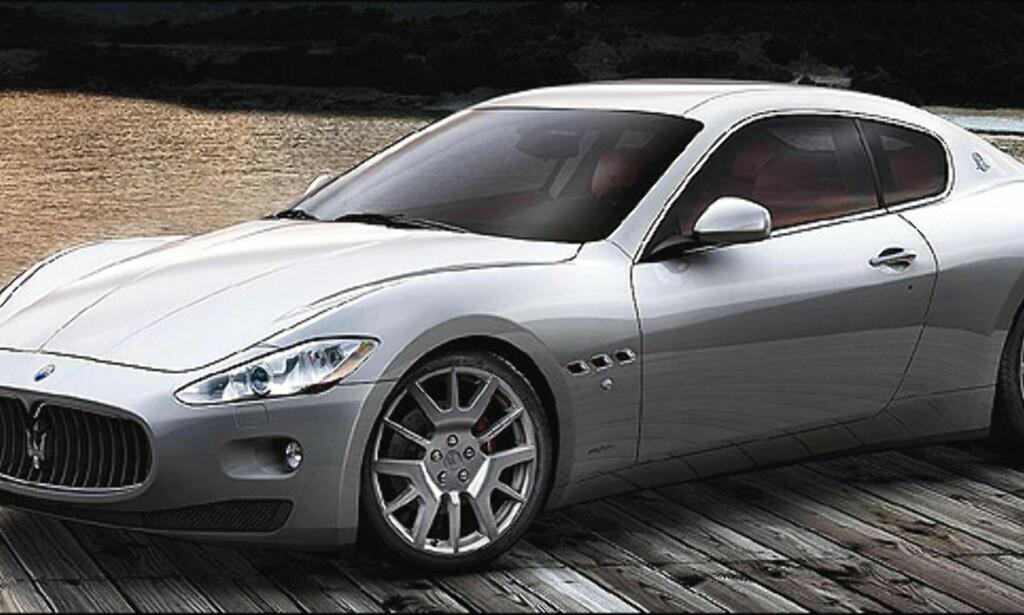 Åttendeplass: Maserati Gran Turismo (33)