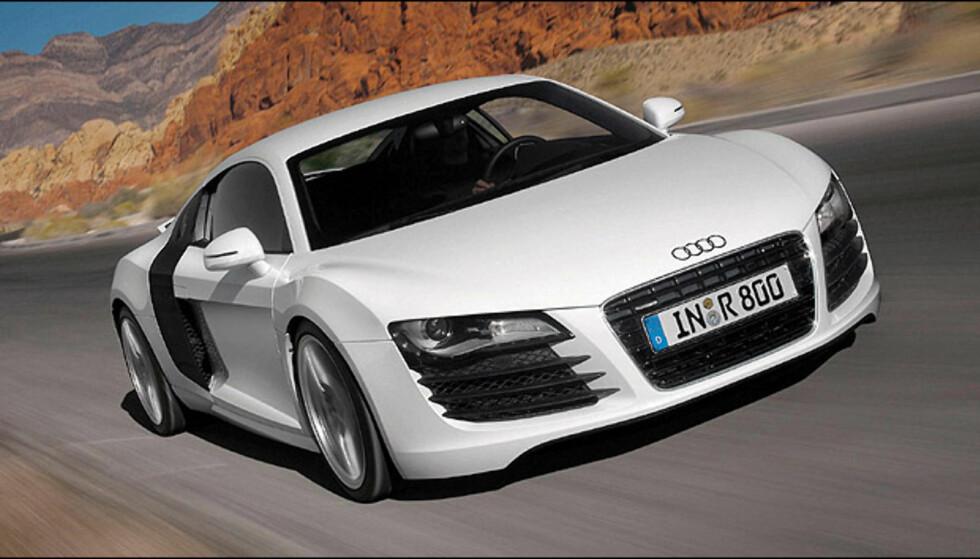 VINNEREN: Audi R8 (172 poeng)