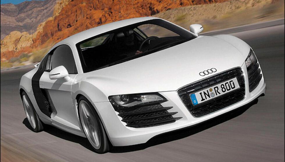 Fjerdeplass: Audi R8 (724)