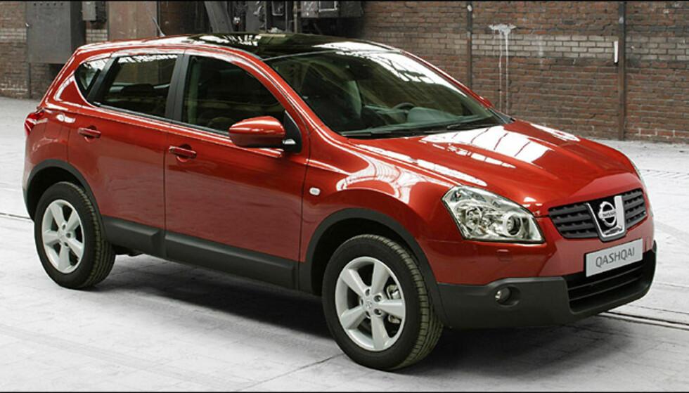 Femteplass: Nissan Qashqai (kalles Dualis i enkelte markeder) (702)