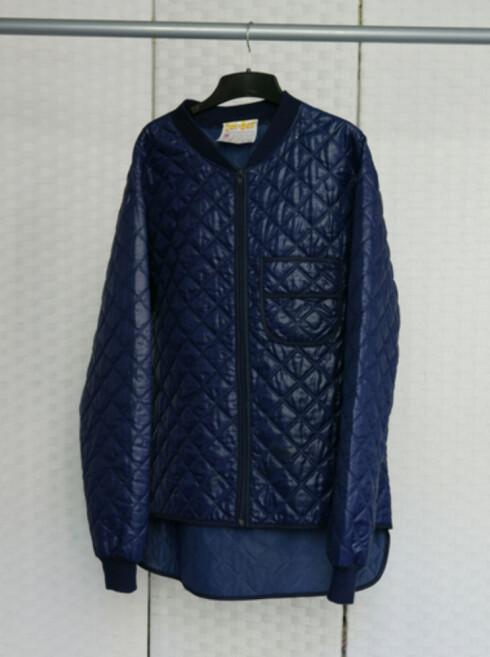 Anne Brit Opdahl bestemte seg for å redesigne denne jakken... Foto: Foto: Sandra Aslaksen