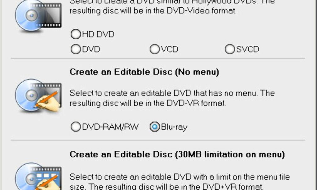 image: Brenne egen HD-video på Blu-ray?