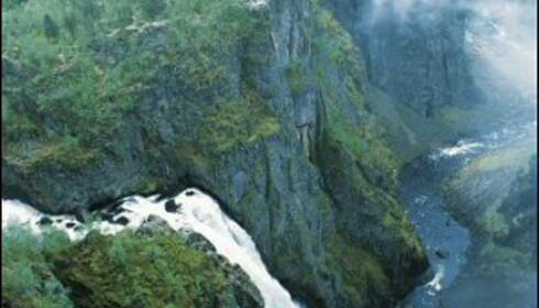 Den mektige Vøringsfossen. Foto: Johan Berge/Innovasjon Norge
