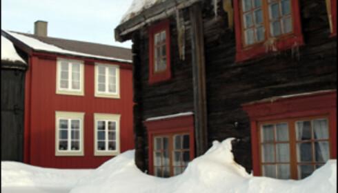 Røros gamle trebebyggelse er unik. Gruvene er en del av norsk industrihistorie. Foto: Kristin Sørdal