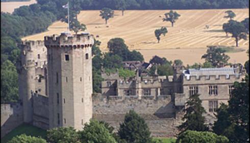 Warwick slott. Foto: Wikipedia.com