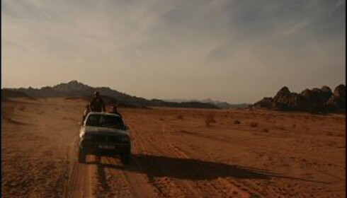 Wadi Rum - verdens vakreste ørken
