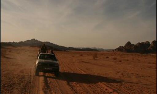 image: Wadi Rum - verdens vakreste ørken