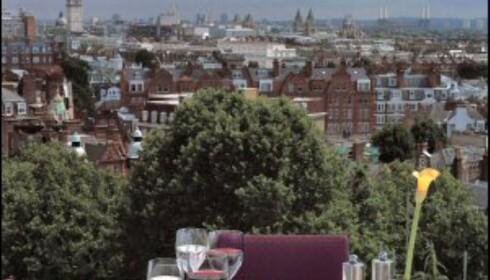 Kensington gardens Roof Top er Londons skjulte perle. Foto: Vibeke Montero