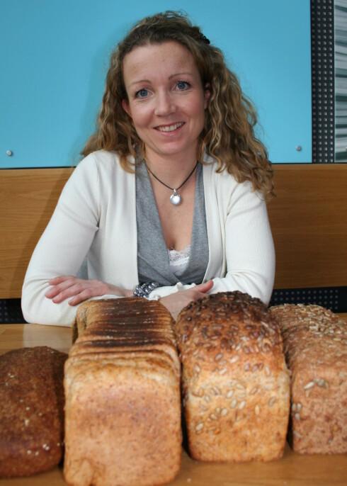 Til hverdags bør du velge et brød som er minst 75 rposent grovt, mener Cathrine Borchsenius. Foto: Elin Fugelsnes