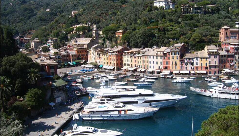 Lite har endret seg i Portofino siden siste storhetstid på 50- og 60-tallet. Bortsett fra at yatchene er blitt større, da. Foto: Markus Bernet