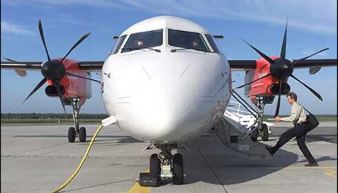 Dash 8 fly stod i fare for å miste vingene i luften, sier canadiske luftfartsmyndigheter.