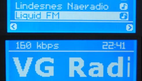 Utvalget av radiokanaler er det beste vi har sett.