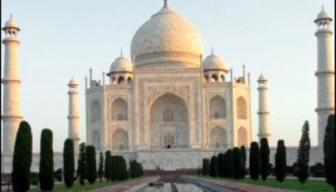 Taj Mahal i all sin prakt. Foto: Vibecke Montero Foto: Vibeke Montero