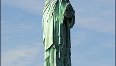 Frihetsgudinnen. Foto: Hans Kristian Krogh-Hanssen