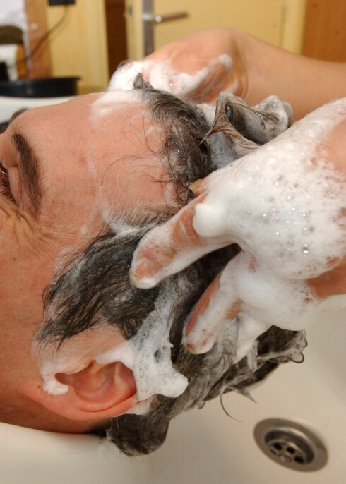 Har du nyvasket hår, vil du puste inn mer ozon, mener forskerne. Illustrasjonsfoto: Colourbox.com Foto: Illustrasjonsfoto: Colourbox.c