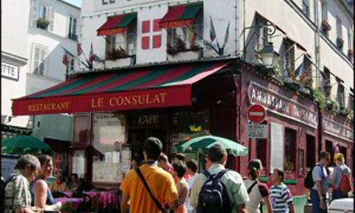 Parisisk gateliv fenger livsnyterne. Foto: Hilde Vanstraelen