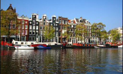 De karakteristiske, smale kanalhusene. Foto: Michel Meynsbrughen