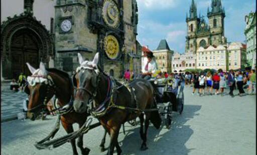 Et glimt av Prahas gamle bytorg. Foto: Czech Airlines