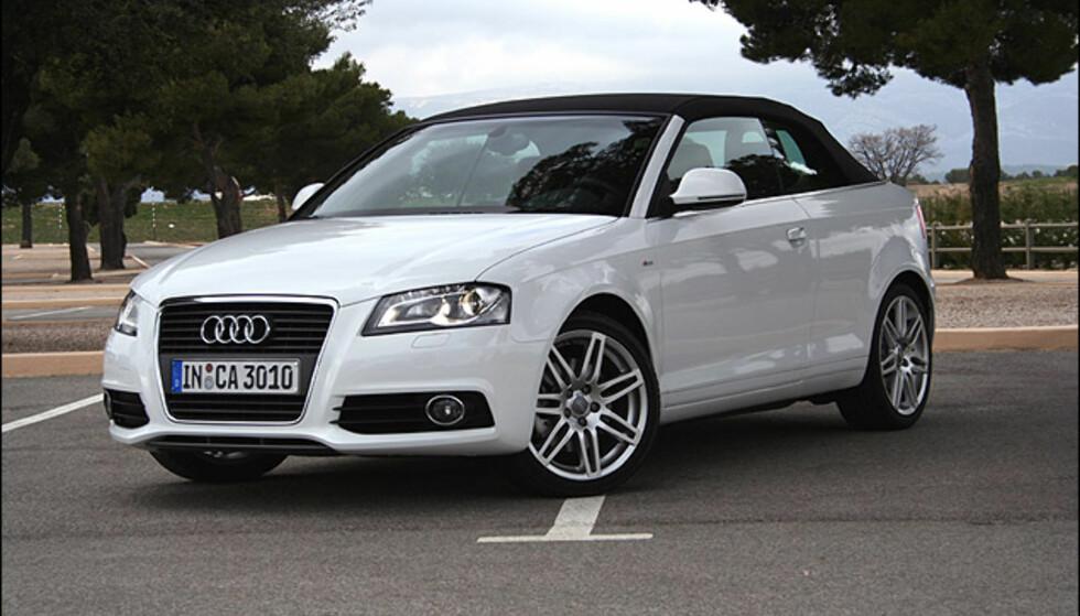 Audi A3 Cabriolet: Store eksteriør-bilder