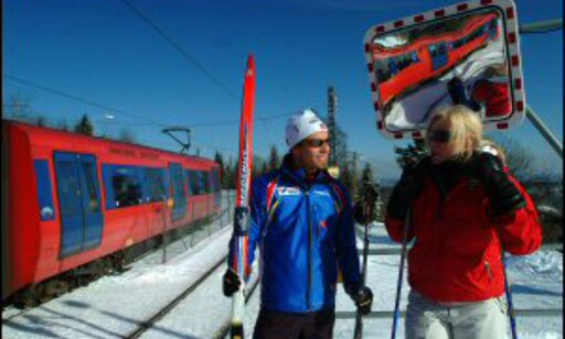 Du kan fortsatt gå på ski selv om det blir bypåske (kanskje ikke for bergenserne, da). Foto: Nancy Bundt/Innovasjon Norge