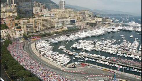 Formula 1 i Monaco er energi, adrenalin og folkemasser. Foto: E. Spada