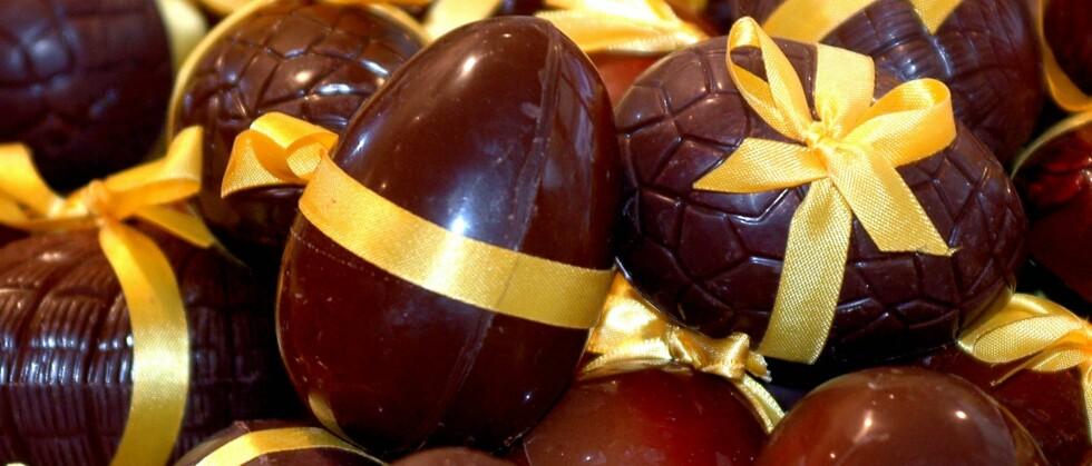 I disse påsketider kjøper vi inn sjokolade og marsipan for millioner av kroner. Foto: Colourbox.com Foto: colourbox.com