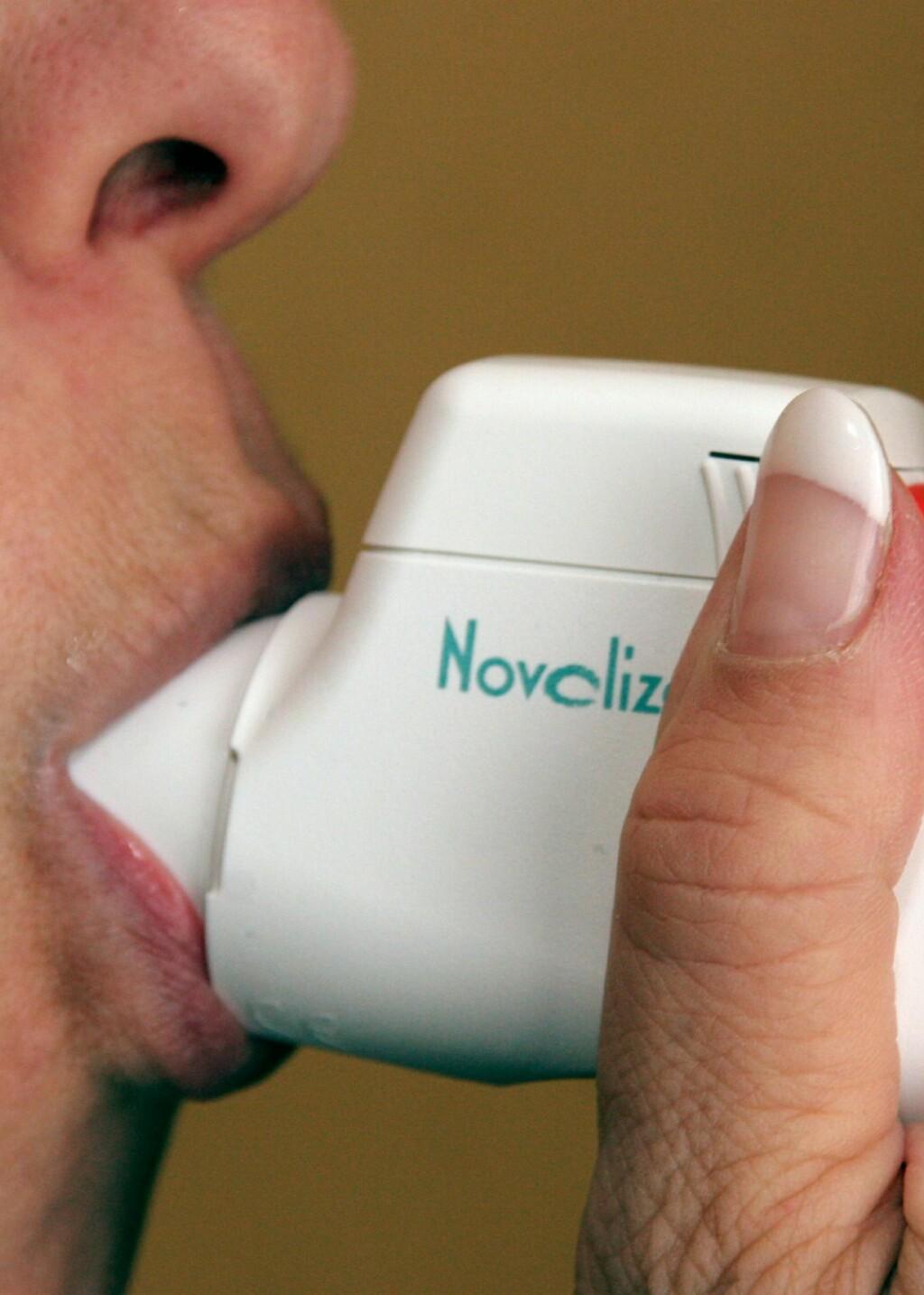 Kvinner som tok Aspirin regelmessig hadde færre tilfeller av astma. Illustrasjonsfoto: colourbox.com Foto: Illustrasjonsfoto: colourbox.c