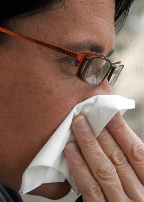 Mange leger tyr for raskt til antibiotika når pasienter kommer med symptomer på bihulebetennelse, mener ekspert. Illustrasjonsfoto: colourbox.com Foto: Foto: colourbox.com