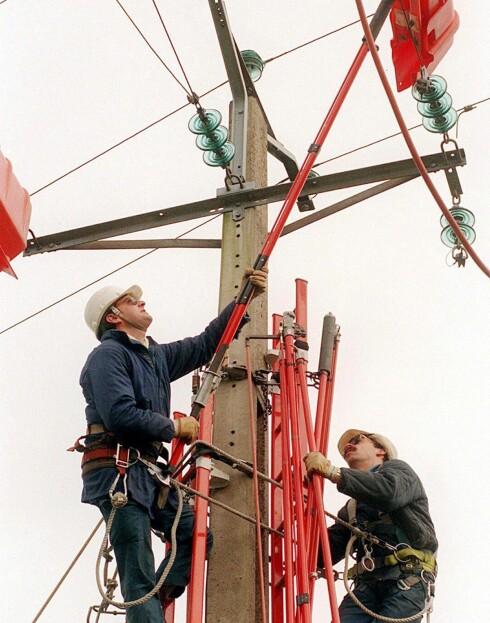 Elektrikere kan vente seg en høy begynnerlønn på tross av at utdannelsen er kort. Foto: Foto: Colourbox.com