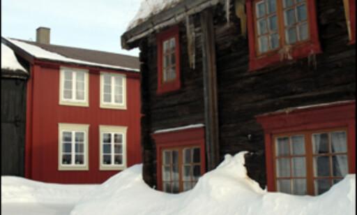 Gammel trehusbebyggelse. Foto: Kristin Sørdal