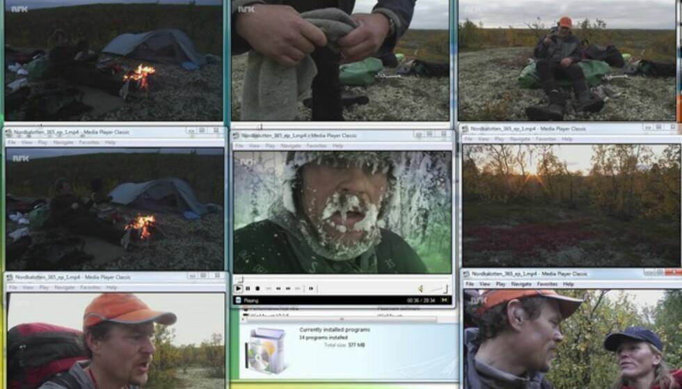 Videokompresjon og avspilling