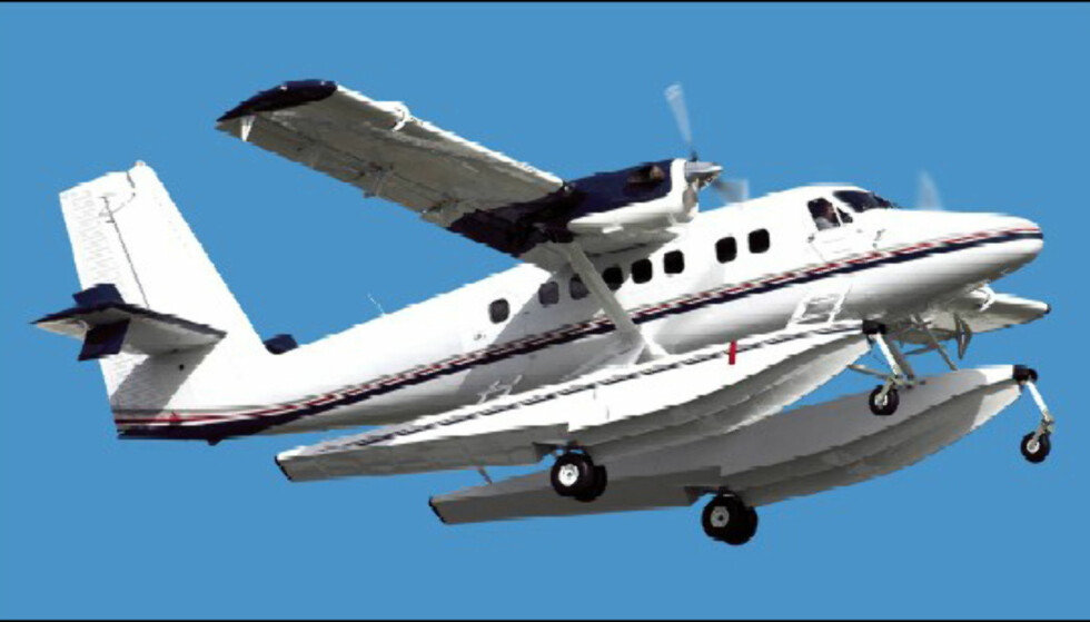 Den nye Twin Otteren til Viking Air. Foto: Viking Air