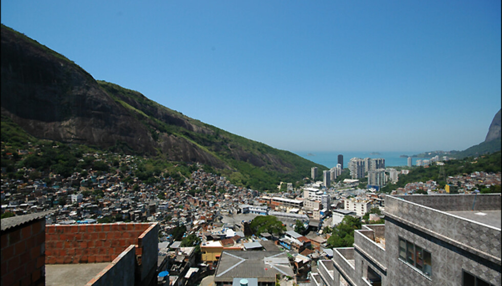 Utsikten fra Brasils beste tomter er ikke dum...Foto: Hans Kristian Krogh-Hanssen