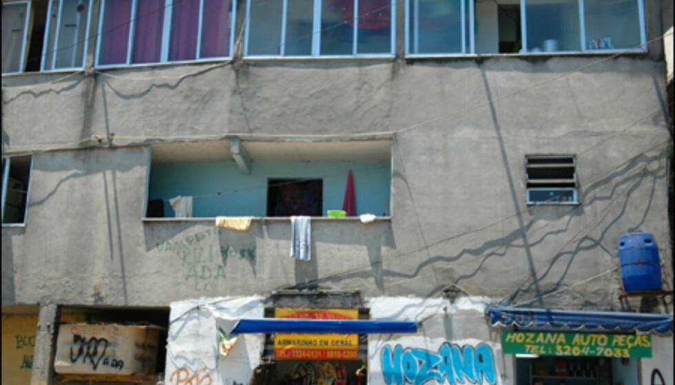 En leilighet i favelaen blir også dyrere i disse dager. 70 kvadratmeter favelabolig koster fort 70 000 kroner. Foto: Hans Kristian Krogh-Hanssen