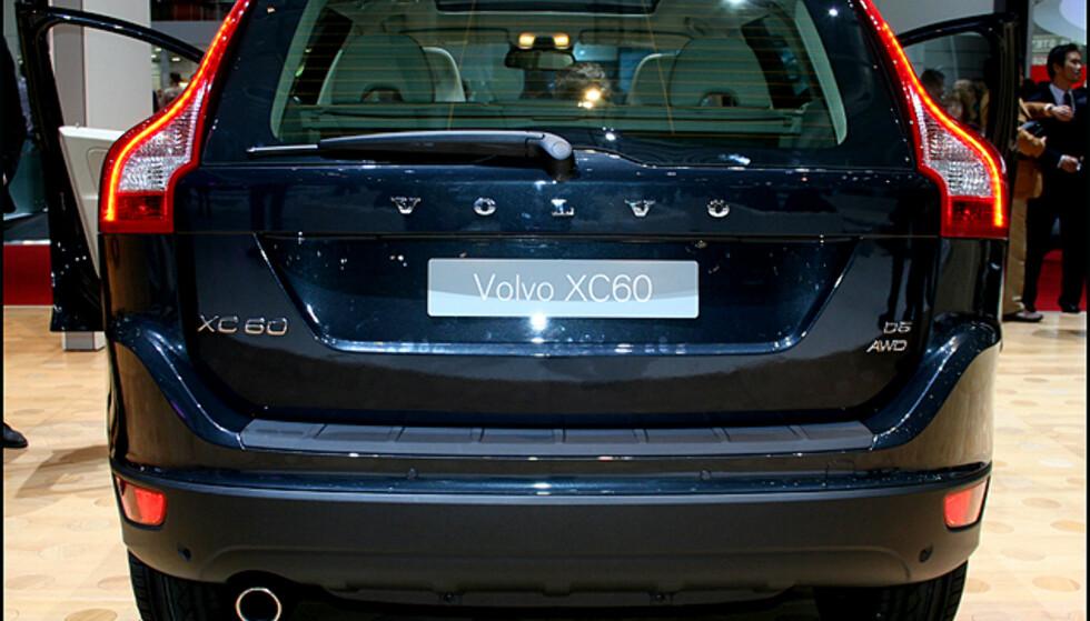 Gjenkjennelig som Volvo-hekk, ikke sant?