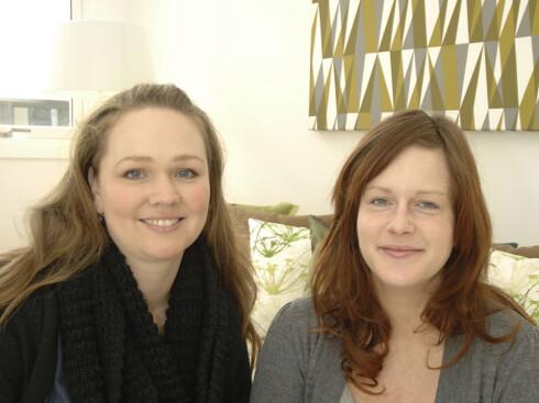Camilla Moen Johnsen og Hanne Elise Bugge i Kreativ Bolig AS vant fagjuryens pris i boligstyling-konkurransen. Foto: Garanti Eiendomsmegling. Foto: Foto: Garanti Eiendomsmegling