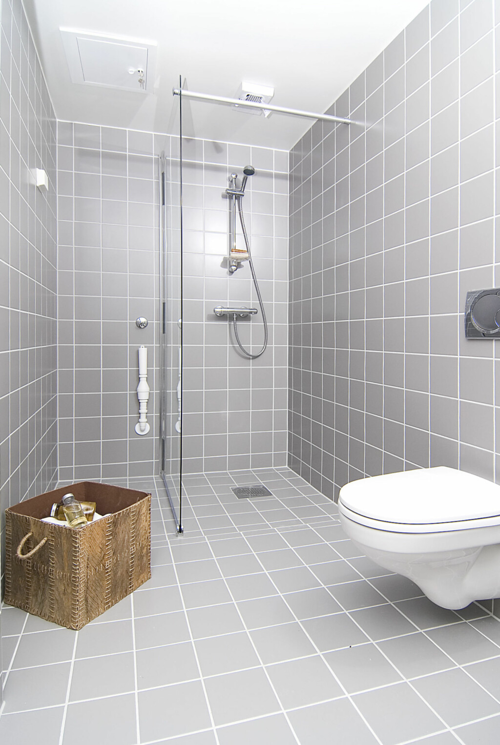 Badet stylet av Interior Deal AS. Foto: Foto: Garanti Eiendomsmegling