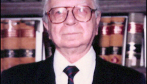 President Richard James McDonald.