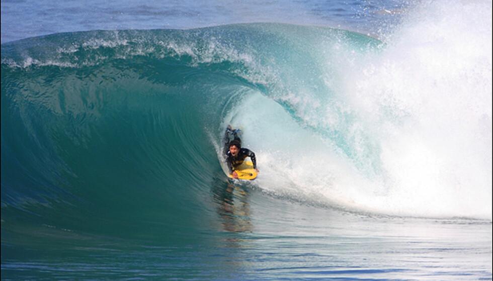 Bølgene kan være helt i verdensklasse i Marokko.