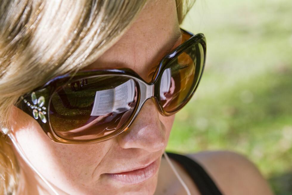Bruker solbriller av forfengelighet