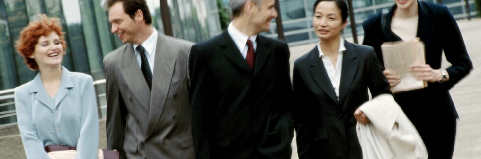 Klær alene vil nok ikke kunne gi deg en toppstilling, men riktige klær kan virkelig hjelpe deg på veien opp. Foto: Colourbox.com Foto: Foto: colourbox.com