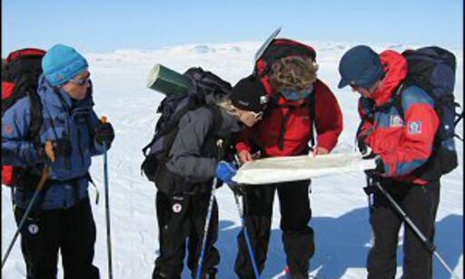 Så lenge du har riktig utstyr, og kan bruke kart og kompass, kan du fint ta en langtur over fjellet. Foto: DNT Oslo og Omegn