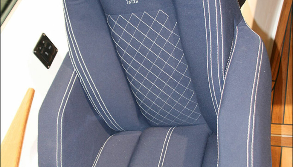 Litt Bentley-look på disse setene som finnes i flere Ibiza-modeller. Logoen ligner også på Bentley sin.