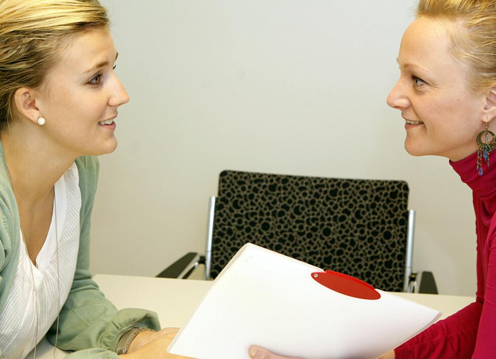 Øyekontakt er svært viktig for å oppnå god kontakt Foto: Per Ervland/AllerInternett
