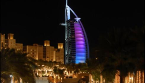 Dubai satser hardt på å bli en stor turistdestinasjon.