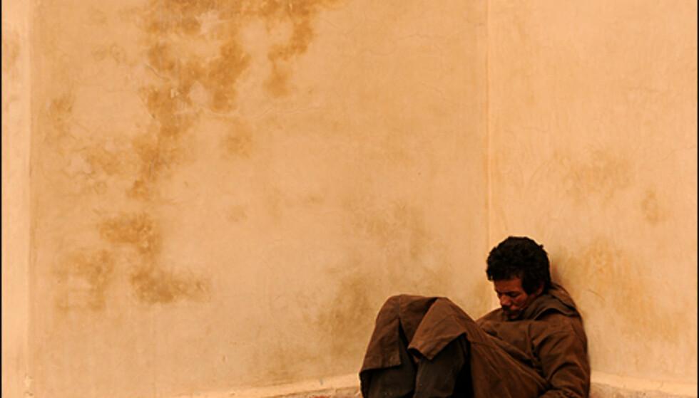 Fattigdommen er stor i Marokko - noe du også vil oppleve i Marrakesh.