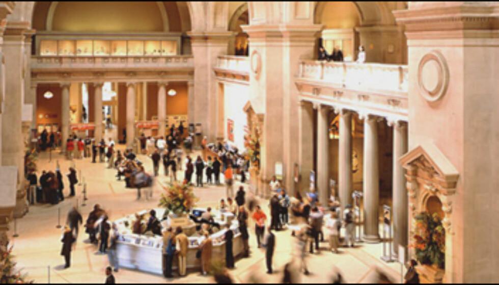 Metropolitan Museum of Art i New York er et av de største museene i verden. Her har rundt 2.000 malerier plass.  På nett: www.metmuseum.org Foto: Colourbox