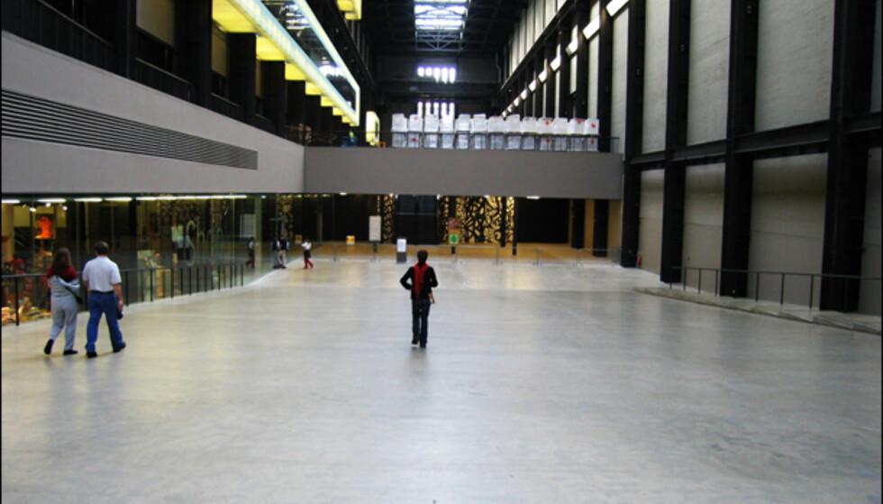 Tate Modern har tilhold i en tidligere kraftstasjon ved Thames. En av de største samlingene med surrealisme-kunst i verden.  På nett: www.tate.org.uk  Foto: Valerio lo Bello