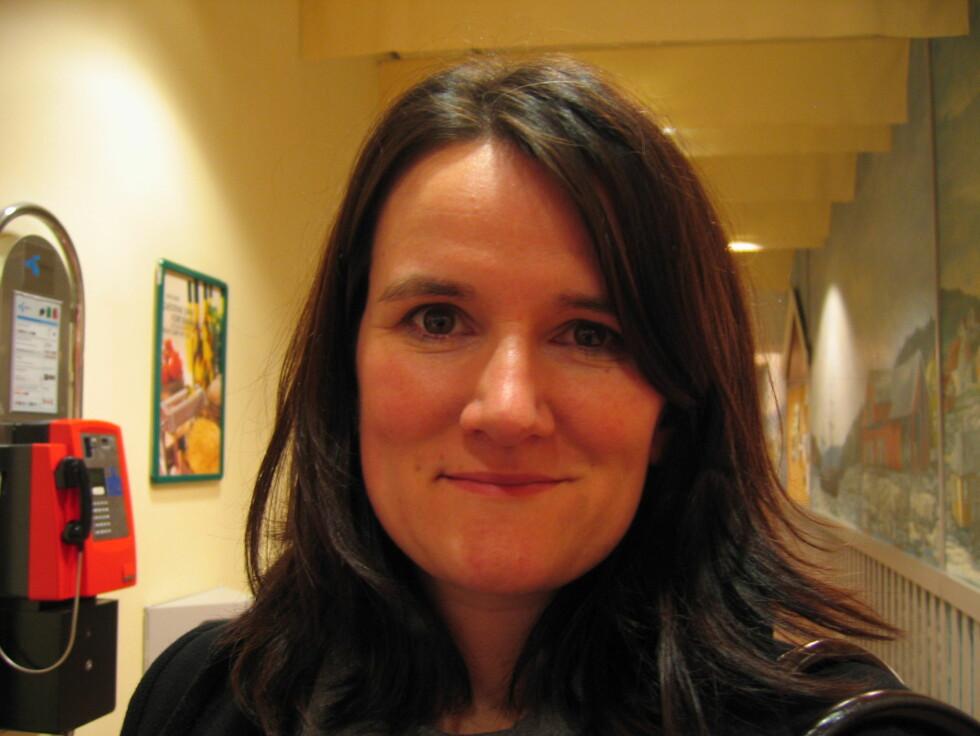 Jeanette Stenseng (35), prosjektleder, Haslum - Jeg har en jobb som krever at jeg jobber mye. Men om jeg hadde funnet en tilsvarende stilling, som det var mulig å jobbe mindre i, ville jeg gjerne gjort det.  Foto: Foto: Hanne Maria Breivik