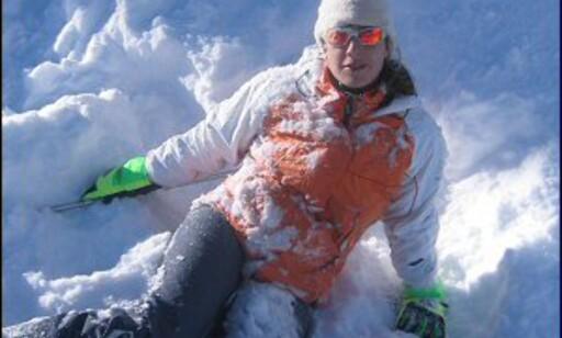 Ikke født med ski på beina, kanskje? Foto: Ana Fernandez